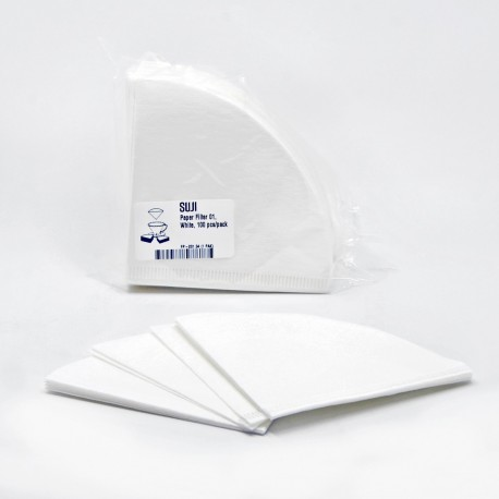 Paper Filter 01, White, 100 pcs/pack
