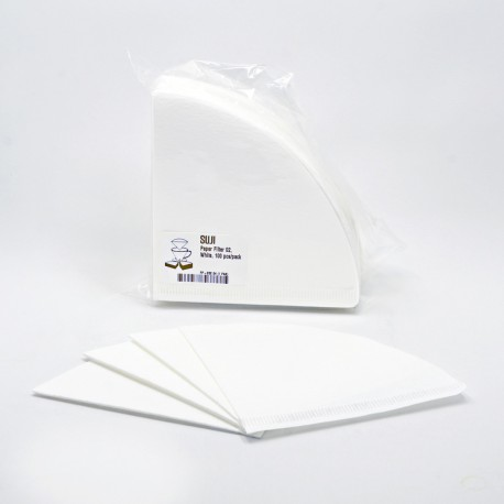 Paper Filter 02, White, 100 pcs/pack