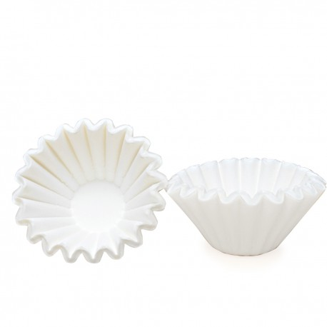 Paper Filter Wave Shape 155, White, 25 pcs/pack