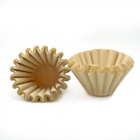 Paper Filter Wave Shape 185, Natural, 25 pcs/pack