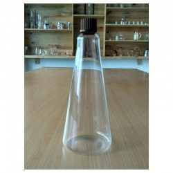 Bottle Tower 750 ml, Screw Cap GL 25, Black
